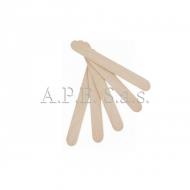 Spatole legno viso 10 pz. per cera