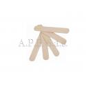 Spatole legno corpo 10 pz. per cera