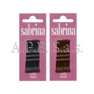 Mollette Ondate Sabrina 24 pezzi