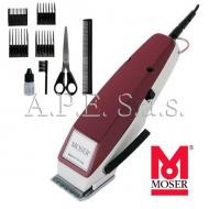 Tosatrice MOSER 1400 con accessori